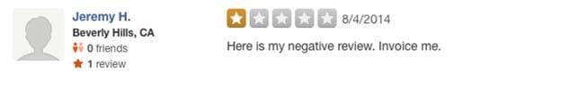 Negative Online Reviews – Don't Ignore Them